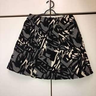 Zara Floral Shimmery Skirt