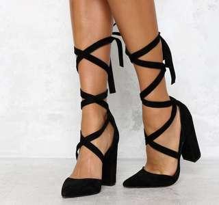Windsor Smith Bryony Heel Black