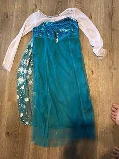 Sequinned Frozen dress