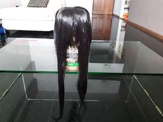 URGENT CLEARANCE Black 60cm Cosplay Wig