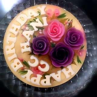 Jelly 3d Cake