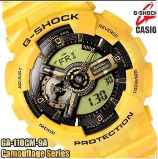 G Shock Watch GA110CM-9A