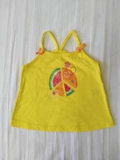 Wonderkids Baby Girl Spaghetti Strap Top