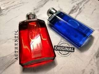 Alfred Dunhill Desire Red & Blue (Authentic)