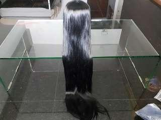 URGENT CLEARANCE Brand New 100 cm Black Cosplay Wig