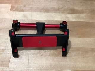 汽車頭枕平板電腦固定架