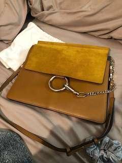 Chloe Faye Mustard Brown Bag - NEW LOWERED PRICE