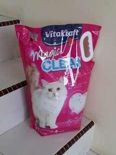 🚚 Vitakraft Cat Crystal Litter 5L