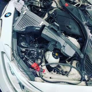 Bmw 1 series alternator belt replacement