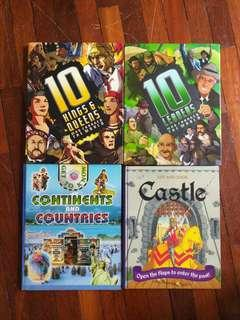 Assorted Hardcover Children's Reference Books