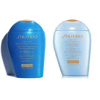 100ml Shiseido WetForce Expert Sun (Ageing) Protection Lotion Plus SPF50+