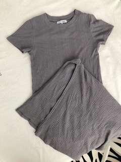 Side Slit Long Dress
