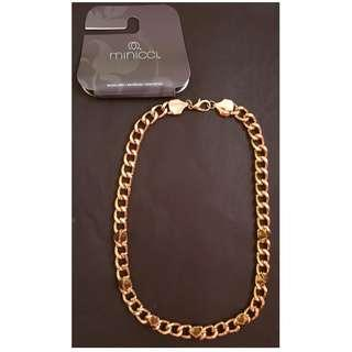 New Hip Hop Bling Rap Gold Chain Necklace with Spikes