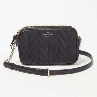 956cfd506cf589 (INSTOCK SALES) Authentic Kate Spade WLRU5244 Briar Lane Quilted Kendall  Sling Crossbody Bag