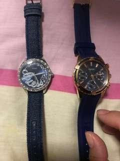 Fast deal @$100 for both Authentic Guess Ladies Watch