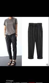 Black joggers pants