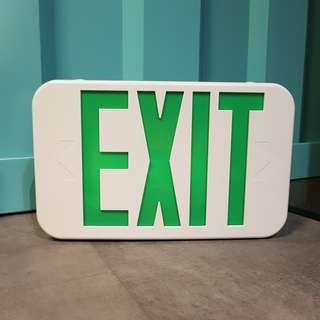 Exit Sign Emergency Light (Industrial)