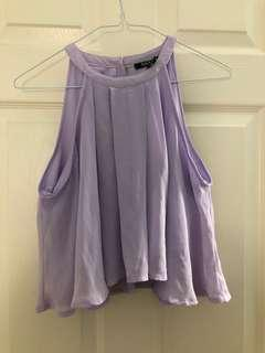 Urban Planet Lilac Top (XL*)