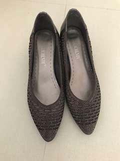 灰色晚裝鞋