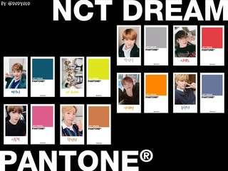 [WTS/UNOFFICIAL] NCT DREAM NCT 127 WAYV PANTONE PHOTOCARD SET