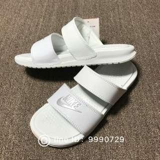 MeWei🔷 Wmns Nike Benassi Duo Ultra Slide 雙槓 拖鞋 三色