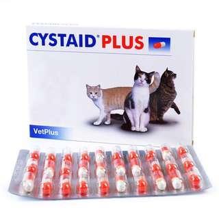(南南貓舍) VetPlus Cystaid Plus 利尿通 貓用 膀胱修復 30粒 膠囊裝