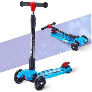KIDS SCOOTER FOLDABLE HANDLE new in stock PLAIN and Graffiti type