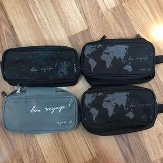 Agnes B x Cathay Pacific toiletries pouch - you choose