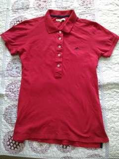 Authentic Sacoor Brothers Red Polo (Lady/Woman) - Not Adidas or Nike