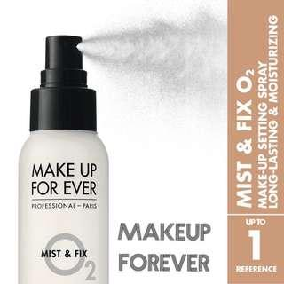 MAKE UP FOR EVER Mist & Fix Setting Spray 定妝噴霧 125ml