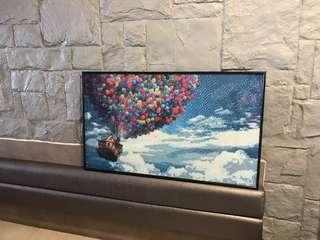 Ready made diamond art painting - Balloons house