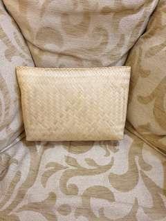 Eco-friendly handmade clutch/ pouch