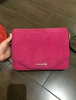 Tas charles and keith pink ori store