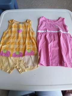 Baby Girl Clothes for Sgd5 only!