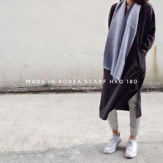 韓國🇰🇷🇰🇷 淨色頸巾