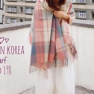 韓國🇰🇷🇰🇷 格仔頸巾