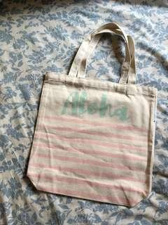 Aloha bag made by the sea in Hawaii