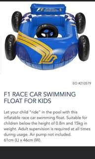 🚚 F1 Race car swimming float (SIA exclusive only)