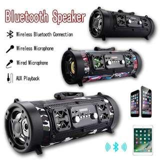 CH-M17 Bluetooth Speaker Bass Surround Portable Outdoor LED Speaker
