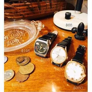 舊硬幣/中古/配飾/罕有/收藏品/擺設/特色/手錶(運作正常)