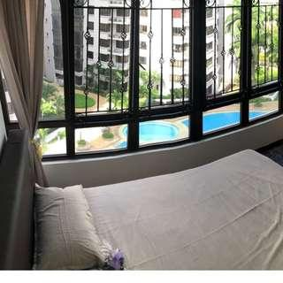 One bedroom Condo Studio Apartment @Chinese Garden MRT