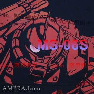 【AMBRAI.com】 UNIQLO x GUNDAM 鋼彈 40週年 聯名 薩克 刺繡 短T Tee UT T恤 短袖