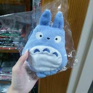 日本帶回🎌 現貨 水藍色毛茸茸龍貓卡夾