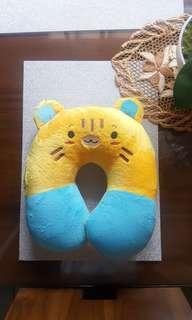 Cute Blue Yellow Neck Pillow