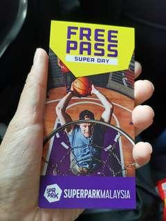 Superpark super day pass
