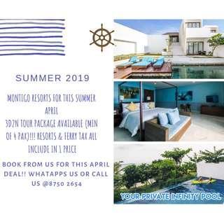 3D2N Summer April Staycation @ Montigo Resorts