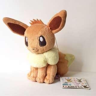 日本比卡超Pokemon 伊貝公仔掛飾 6吋 全新有牌 可面交或郵寄