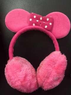 MINNIE Ear muffs warmer #mhb75