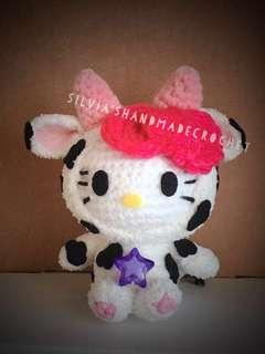 💕 Crochet Hello Kitty Horoscope ( Taurus )