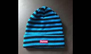 Supreme 冷帽 100%real